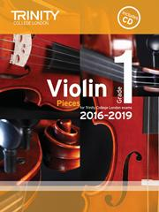 Trinity College violin exam pieces 2016-2019 image