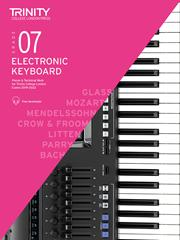 Trinity College Electronic keyboard grade 7 image