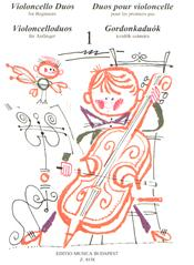 Violoncello duos for beginners image
