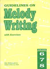 Guidelines on melody writing image