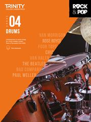 Trinity College Rock & Pop Drums grade 4 image