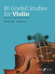 80 Graded Studies for Violin image