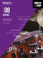 Trinity College Rock & Pop Drums grade 8 image
