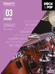 Trinity College Rock & Pop Drums grade 3 image
