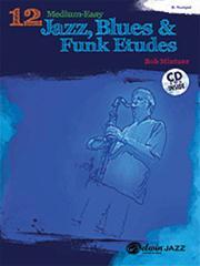 12 Medium Easy Jazz Etudes Tpt (+CD)